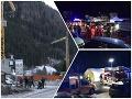Horor v lyžiarskom raji na severe Talianska: FOTO Do skupiny turistov vrazilo auto, šesť mŕtvych