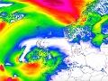 Mohutná búrka mieri z Atlantiku nad Európu: VIDEO O pár hodín prinesie mimoriadne silný vietor