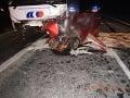 Tragická dopravná nehoda v okrese Krupina.