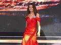 Diana Kačurová na Miss Universe SR 2013.