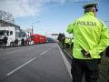 FOTO Štrajk autodopravcov pokračuje: S obmedzeniami počítajte na celom Slovensku aj počas víkendu