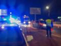 Hromadná nehoda na diaľnici