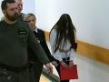 AKTUÁLNE Judita obžalovaná z vraždy Tomáša (†16) pred súdom: FOTO Ukrývala si tvár a celá sa triasla