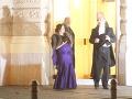 Pred pol dvanástou v noci odchádzali z Plesu v opere aj manželia Iveta a Martin Malachovskí.