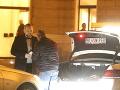 Herec Martin Mňahončák odchádzal s veľmi originálnym taxíkom.