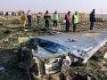 Teherán to potvrdil: Ukrajinské dopravné lietadlo zasiahli dve iránske rakety