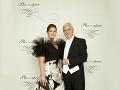 Andrea Cocherová, riaditeľka dobročinného Plesu v opere s manželom Ivanom Golianom