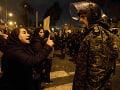 Demonštranti v Teheráne kričali