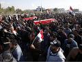 Nepokoje v Iraku neutíchajú: Stovky demonštrantov žiadali odchod amerických vojakov