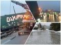 Poľadovica spôsobila dopravné peklo: FOTO Obrovské kolóny na D1, polícia uzatvorí diaľnicu