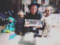 Tomáš Klus má s Tamarou tri krásne deti - Josefínu, Alfréda a Jenovéfu.
