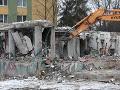 Srdcervúci pohľad z Prešova: Panelák smrti takmer zmizol, posledné FOTO z miesta duchov