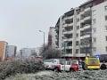 Výbuch bytu v Bratislave