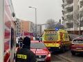 Výbuch v byte v hlavnom meste