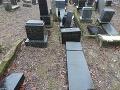 FOTO Zničený židovský cintorín v Rajci: Na svedomí ho majú malí chlapci, najmenší má 9 rokov