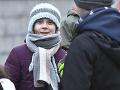 Thunbergová prišla do Švajčiarska: Vystúpila na klimatickom proteste v Lausanne