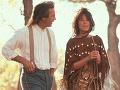 Kevin Costner vo filme Tanec s vlkmi (1990)