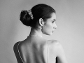 Šikovná fotografka Alexandra Rymšinová urobila Janke krásne svadobné fotky. I keď zatiaľ nie sú z jej veľkého dňa.