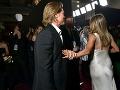 Jennifer Aniston a Brad Pitt