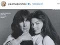 Pavlína Pořízková a Ric Ocasek tvorili sympatický pár.