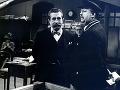 Július Satinský a Jozef Dóczy vo filme Jožko Púčik a jeho kariéra (1983)