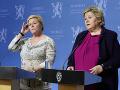 Nórska premiérka Erna Solberg
