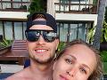 Nela Slováková a Lukáš Kozák tvoria krásny pár.