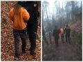 FOTO Chlapec v pátraní unikal pred policajtmi: Skočil do Hrona a utekal až na kopec Urpín