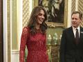 Vojvodkyňa Kate bola opäť raz očarujúca.