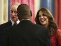 Kate a William sa počas summitu opäť predviedli ako dokonalí hostitelia.