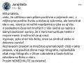 Obeťou podvodu sa stal aj Juraj Bača. Niekto si totiž v jeho mene a pod jeho fotkou pýtal fotky od rôznych žien, chcel sa s nimi stretnúť, zavolať si.