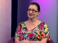 Judita Hansman ako hosť v Televízii Bratislava
