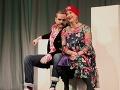 Judita Hansman na divadelných doskách s Jánom Jackuliakom