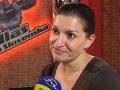 Judita Hansman sa predviedla aj ako speváčka v šou Hlas Česko Slovenska.