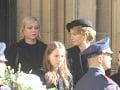 Dominika Gottová na otcovom pohrebe