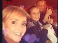 Kveta Horváthová sa na Instagrame pochválila svojou rodinkou - dcérou Paulínkou a manželom Júliusom.