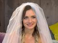 Nevesta Lucia v šou Svadba na prvý pohľad.