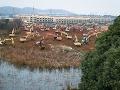 Vo Wu-chane budujú nemocnicu pre pacientov nakazených koronavírusom.