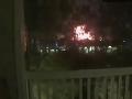 VIDEO Výbuch v priemyselnom