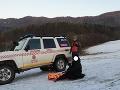 FOTO Horskí záchranári opäť v akcii: Pomáhali turistke so zranenou nohou
