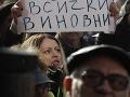 FOTO Obrovská demonštrácia v Bulharsku: Obyvatelia mesta Pernik potrebujú pitnú vodu