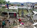 Pri záplavách a zosuvoch