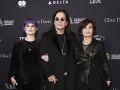 Kelly Osbourne, Ozzy Osbourne a Sharon Osbourne