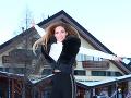 Andrea Verešová pútala v hoteli pozornosť turistov.