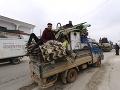 Sýrske sily vstúpili do