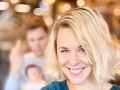 Kristína Tormová je spokojná s blond farbou.