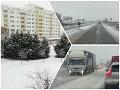 ONLINE Slovensko zasiahlo mohutné sneženie: VIDEO Doprava začína kolabovať