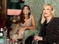 Spolu s Jasminou Alagič Vrbovskou bola v spoločnosti aj riaditeľka Fashion Tv Gabika Drobová