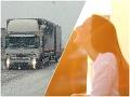 Dážď a sneh trápi vodičov! V týchto krajoch je situácia najhoršia: VÝSTRAHY Cez víkend sa počasie zblázni