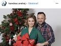 Ondrej Kandráč s manželkou Erikou, ktorá momentálne nosí pod srdcom ich tretie dieťatko.